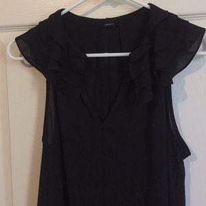 Super cute black blouse